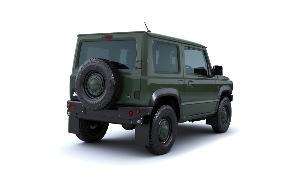 Suzuki Jimny úprava od DAMD - Mini Land Rover Defender = Little D